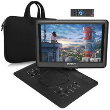 """16""""HD Tragbarer DVD Player 1080P HDMI USB SD Memory Auto TV AV-IN OUT+Handtasche"""