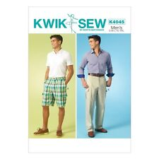 Kwik Sew Patterns K4045 OS Sizes Small - Medium - Large-Xl-Xxl Mens Shorts an...