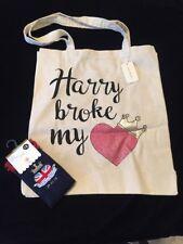 PRIMARK Prince Harry Meghan Royal Wedding Socks Bag Set Broke Heart Duke Sussex