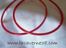 2 serres tête rouge acrylique avec picots accessoires cercle cheveux