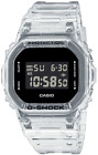 BRAND NEW Casio G-Shock Men's Ana-Digi Origin Transparent Band Watch DW5600SKE-7
