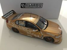 1:18 2015 HOLDEN VF COMMODORE CRAIG LOWNDES RED BULL RACING 888 100 WINS GOLD