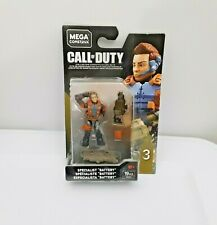 Mega Construx ACTIVISION Call of Duty Specialist Battery Figure Series 3 NEW