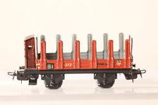 Märklin H0 Vagón de Chapa 372 Plataforma con Oscurecido Garita Guardafrenos