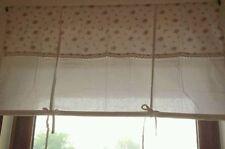 Rideaux et cantonnières pour la chambre en 100% coton