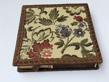 Vintage Hand Work Art Matchbox 4/1 Holder