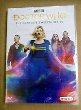 Doctor Who Season 12 (Dvd, 2020, 3-Disc Set) New & Sealed Free Shipping Us Rg1