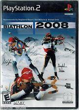 Biathlon 2008 (Sony PlayStation 2, 2008) Factory Sealed