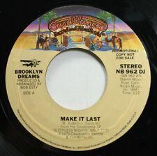 Soul 45 Brooklyn Dreams - Make It Last / Make It Last On Casablanca