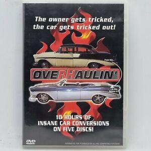 OVERHAULIN' DVD Series 1 6 Discs 10hrs Car Restoration Conversion Chip Foose