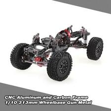 1/10 CNC RC Rock Crawler Truck Frame Chassis 313mm For AXIAL SCX10 RC4WD  U2I3