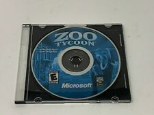Zoo Tycoon (PC, 2001) Disc 1 Only Microsoft Windows Computer Game