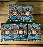 Lot of (5) 2019-2020 Panini Chronicles NBA Basketball Blaster Box In Hand!!!!
