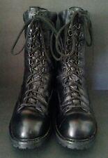 Matterhorn Boots 10 Inch Gore Tex Black 1949 USA Mens Size US11.5 M