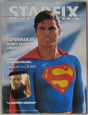 Revue Starfix n°6 Juillet 1983 Superman III Twilight Zone