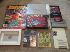 Super Metroid (Super Nintendo SNES) Complete CIB w/ Magazine