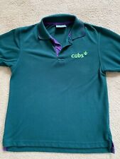 CUBS POLO SHIRT NEWS STYLE OFFICIAL TOP UNIFORM BOYS KIDS FREE DELIVERY