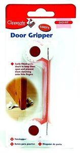 CLIPPASAFE UNDER DOOR GRIPPER STOP WEDGE JAMMER CHILDREN/BABY SAFETY TO FINGERS