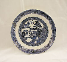 """Later 1700's Adams WILLOW Large 8-1/2"""" Saucer-Type Underplate~ENGLAND~OLD"""