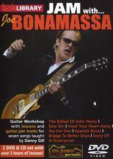 LICK LIBRARY Learn to Play JAM WITH JOE BONAMASSA Sloe Gin Blues Hits GUITAR DVD