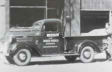 "1937 Chevrolet Pickup truck half ton 12 X 18"" Black & White Picture"