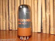 Vintage Sylvania 6V6 GTA Stereo Tube Smoked Chrome #8096 732 11