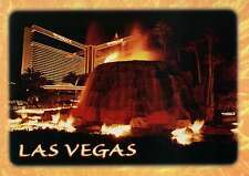 Mirage Hotel Casino, Las Vegas Nevada, Strip, Erupting Volcano, Palms - Postcard