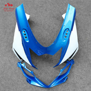 Front Headlight Upper Fairing Cowl Nose Fit For Suzuki GSXR600/750 K11 2011-2017
