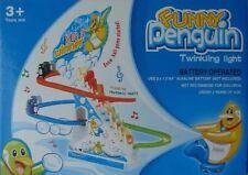 FUNNY Penguin RACE Scintillanti luci e suoni