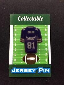Minnesota Vikings Carl Eller jersey lapel pin