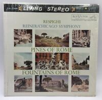 REINER RESPIGHI Pines/Fountains of Rome RCA LIVING STEREO LSC-2436  LP In Shrink