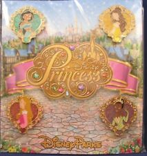 Disney Trading Pins PRINCESS Snow White Others BEAUTIFUL Sealed Booster Set of 4