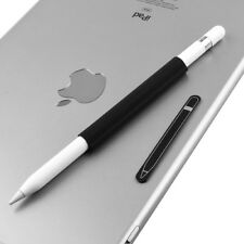 AMZER Magnetic Sleeve Silicone Holder Grip Set for Apple Pencil - Black