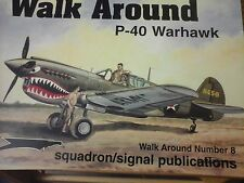 SQUADRON SIGNAL WALK AROUND P-40 WARHAWK N.8