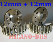 KIT DISTANZIALI RUOTA 12+12mm MERCEDES CLASSE E (W210) '95/'02  Bullone CONICO