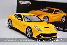 Hot wheels 1:18 Ferrari F12 Elite berlinetta yellow