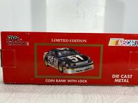 Dale Earnhardt Sr #3 Goodwrench Limited Edition 1:24 Die Cast Coin Bank