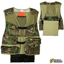 Scent Blocker Torched Spring Turkey Hunting Vest - Realtree Xtra Green Camo NEW!