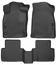 Husky Liners WeatherBeater Floor Mats-3pc- 98461 - Honda Civic 2016-2017 - Black