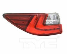 TYC NSF Left Side Tail Light Assy for Lexus ES350/ES300h 2016-2018 Models