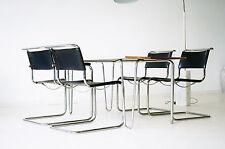 3x S 33 Stühle 1x S 34 Stuhl Freischwinger Besucher Büro Chair Mart Stam Thonet