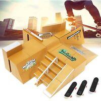 Skate Park Rampe Teile 92D Für Tech Deck Griffbrett Finger Platte Ultimate Parks