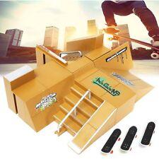 Skate Park Ramp Parts for Tech Deck Fingerboard Finger Board Ultimate Parks 92D