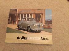 Austin Seven brochure c1955 f 850