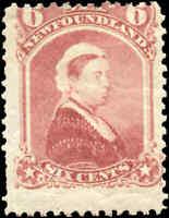 Mint H Canada Newfoundland 1894 6c VG-F Scott #36 Stamp