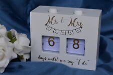 Mr Mrs Wedding I Do Count Down Timer