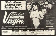 4/9/1982Pg37 Movie Advert 7x10 The Last American Virgin