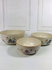 Vintage International China Co. Heartland 3 pc. Nesting/ Mixing Bowls Taiwan