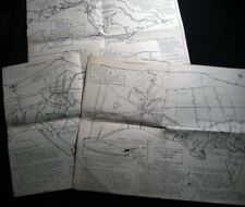 1965 ORIENT FISHERS ISLAND MATTITUCK + THREE SOUTHOLD LONG ISLAND NEW YORK MAPS