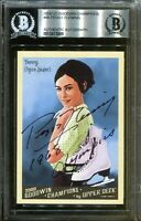 Peggy Fleming 1968 Olympics Signed Upper Deck Card Autograph BAS Beckett COA